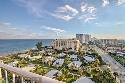 Broward County, Collier County, Lee County, Palm Beach County Rental For Rent: 1010 S Ocean Blvd #1208