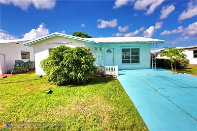 Tamarac Single Family Home For Sale: 5717 NW 82nd Ave