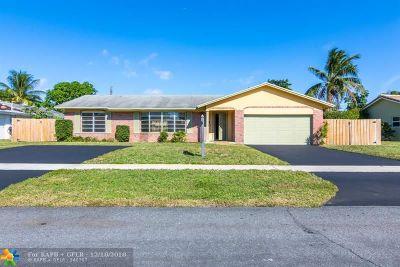 Plantation Single Family Home Backup Contract-Call LA: 5241 SW 9th St