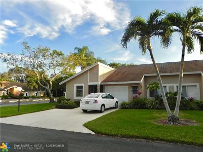 Boca Raton Condo/Townhouse For Sale: 8066 Springtree Rd #A