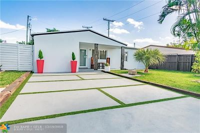 Oakland Park Single Family Home For Sale: 5224 NW 5th Ave