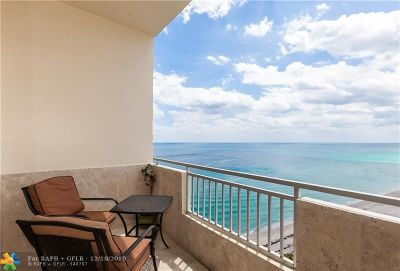 Broward County, Collier County, Lee County, Palm Beach County Rental For Rent: 3180 S Ocean Dr #1709