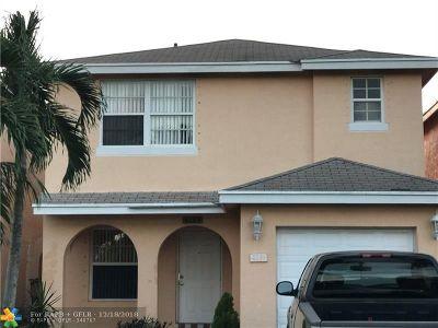 Pompano Beach Single Family Home For Sale: 4149 Eastridge Cir