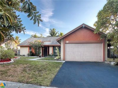 Lauderhill Single Family Home For Sale: 8310 NW 51st St