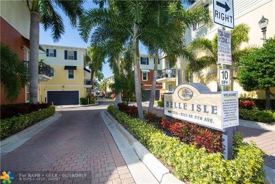 Wilton Manors Condo/Townhouse For Sale: 2273 NE 9th Avenue #2273