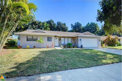 Boca Raton Single Family Home For Sale: 4055 Birchwood Dr