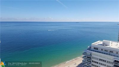 Condo/Townhouse For Sale: 3500 Galt Ocean Dr #2403