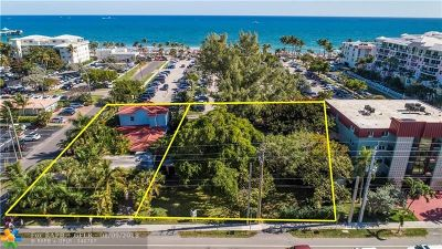 Broward County, Palm Beach County Residential Lots & Land For Sale: 120 S Ocean Drive