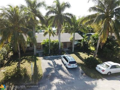 Wilton Manors Multi Family Home For Sale: 1424 NE 23rd St