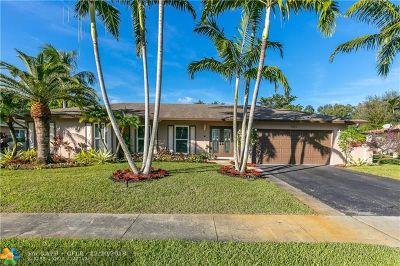 Plantation Single Family Home Backup Contract-Call LA: 7311 SW 13th St