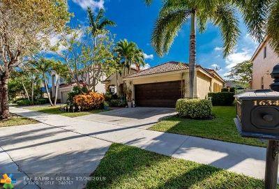 Weston Single Family Home Backup Contract-Call LA: 1634 Sandpiper Cir