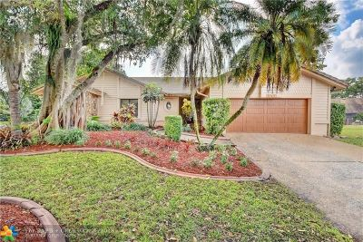 Coral Springs Single Family Home For Sale: 3965 NW 73rd Way