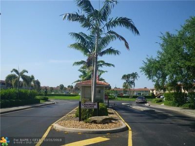 Coral Springs Condo/Townhouse Backup Contract-Call LA: 10030 Twin Lakes Dr #10030