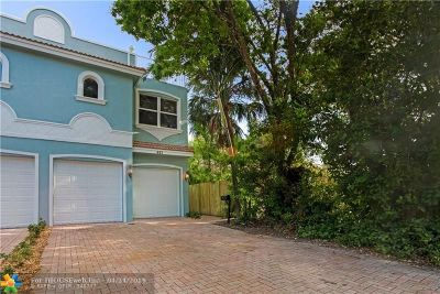 Fort Lauderdale Condo/Townhouse For Sale: 621 SW 11th St