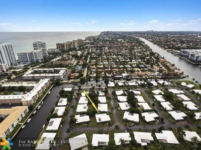 Lauderdale By The Sea Single Family Home For Sale: 1431 S Ocean Blvd #75
