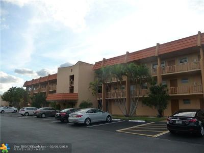 Margate Condo/Townhouse For Sale: 6600 Royal Palm Blvd #309B