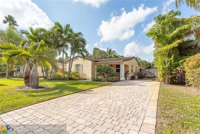 Fort Lauderdale Single Family Home For Sale: 1515 NE 17th Way