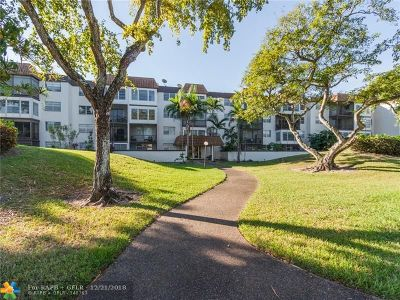 Plantation Condo/Townhouse For Sale: 7100 NW 17th St #120