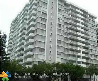 Miami Condo/Townhouse For Sale: 5825 Collins Ave #11F