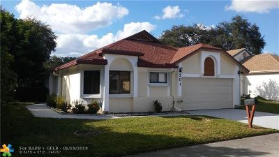 North Lauderdale Single Family Home For Sale: 301 Bishop Rd