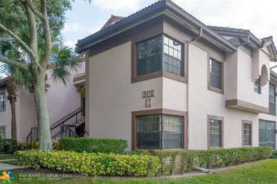 Boynton Beach Condo/Townhouse For Sale: 5415 Verona Dr #E