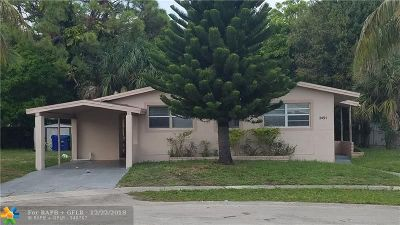 Lauderhill Single Family Home For Sale: 3491 NW 1st Ct