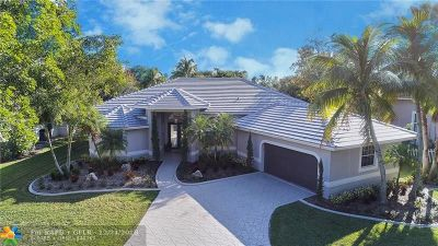 Coral Springs Single Family Home For Sale: 12742 NW 13th Ct