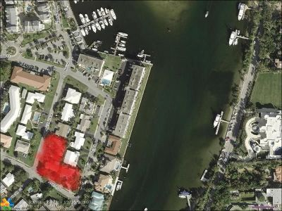 Lighthouse Point Residential Lots & Land For Sale: 2718-2730 NE 29th Ave