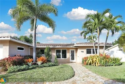 Fort Lauderdale Single Family Home For Sale: 1961 NE 55th Ct