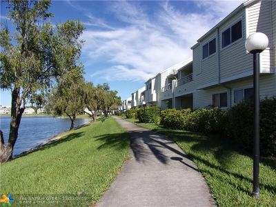 Lauderdale Lakes Condo/Townhouse For Sale: 3473 NW 44th St #206