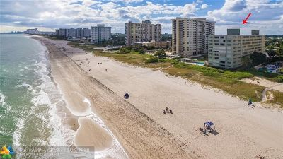 Lauderdale By The Sea Condo/Townhouse For Sale: 1850 S Ocean Blvd #508