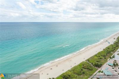 Sunny Isles Beach Condo/Townhouse For Sale: 16699 Collins Ave #2501