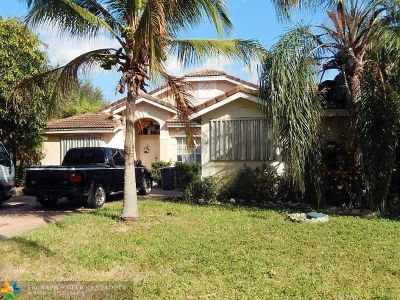 Coconut Creek Single Family Home For Sale: 5524 NW 41st Ter
