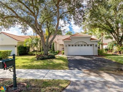 Weston Single Family Home Backup Contract-Call LA: 1540 Seabay Rd
