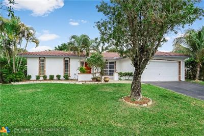 Coral Springs Single Family Home For Sale: 2859 NW 122nd Ave