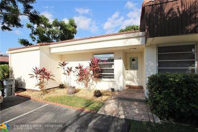 Boca Raton Condo/Townhouse For Sale: 6976 Tiburon Cir #118
