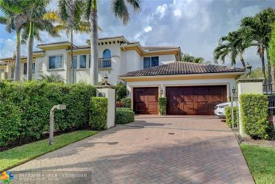 Highland Beach Single Family Home For Sale: 4102 S Ocean Blvd
