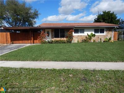 Fort Lauderdale Single Family Home For Sale: 3637 SW 23rd Ct