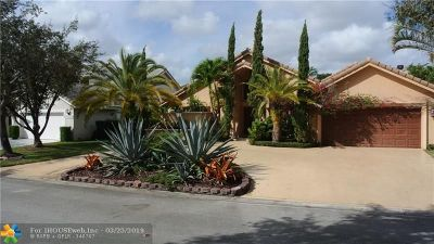 Coral Springs Single Family Home For Sale: 8953 NW 53rd Mnr