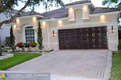 Coral Springs Single Family Home For Sale: 5841 NW 125th Ave