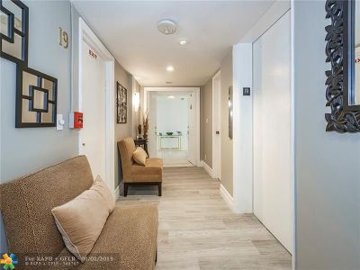 Fort Lauderdale Condo/Townhouse For Sale: 4300 N Ocean Blvd #19B