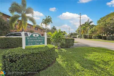 Wilton Manors Condo/Townhouse Backup Contract-Call LA: 2128 NE 9th Ave #2128