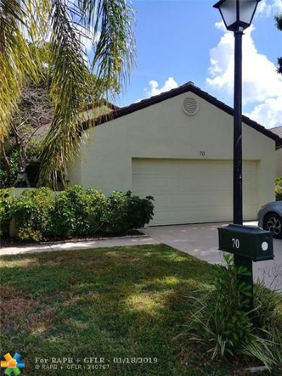Palm Beach Gardens Single Family Home For Sale: 70 Ironwood Way