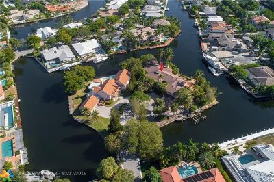 Fort Lauderdale Single Family Home For Sale: 30 Compass Pt