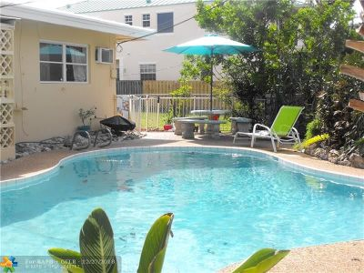 Lauderdale By The Sea Multi Family Home For Sale: 4561 Poinciana