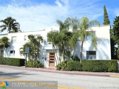Miami Condo/Townhouse For Sale: 1001 7th St #105