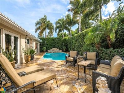 Fort Lauderdale Single Family Home For Sale: 1900 NE 57th St