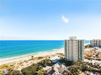 Lauderdale By The Sea Condo/Townhouse For Sale: 2000 S Ocean Blvd #16 L