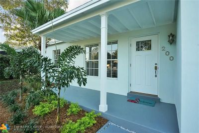 Oakland Park Single Family Home Backup Contract-Call LA: 200 NW 53rd St