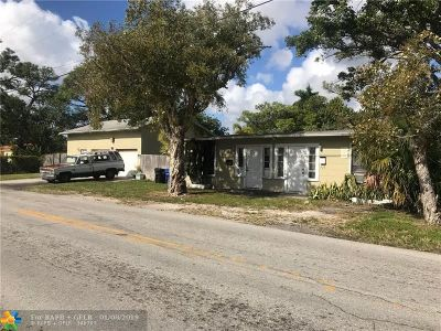Fort Lauderdale Multi Family Home For Sale: 1101 NW 7th Ave